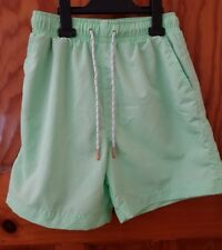 Mens/youths SWIM SHORTS Pale Mint GREEN XS Exc cond