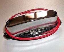 Neuf micro TELECASTER neck céramique single chrome pour guitare Fender