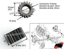 Pignon transmission primaire 140/ 150cc Lifan et 140 à 160cc YX
