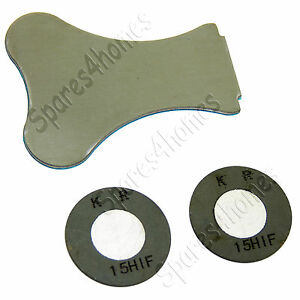 2 x Genuine Replacement Dimplex Transducer Disks/Discs For Heater Fire 7511063