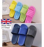 Unisex Women Men Soft Slippers Beach Pool Slip On Shower Sandals Flip Flops Home