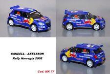 DECAL  1/43 -  SKODA FABIA S2000  -  SANDEL  - Rally NORVEGIA   2009