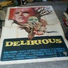 DELIRIOUS manifesto 4F originale 1977