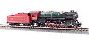 """Broadway 6232 Heavy Pacific 4-6-2, """"Merry Christmas"""" Engine #25, Paragon3 Sound/"""