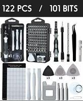 122 In 1 Screwdriver Maintenance Repair Tool Kit Magnetic Electronic Device Tool