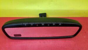 2006-2010 Kia Sedona Auto Dim Rear View Mirror W/ Home Link Compass OEM