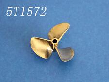 3 blade Copper propeller prop 1/4 inch 6.35mm diameter 72mm p1.4 for rc boat