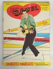 ELVIS PRESLEY Cover On Rare Old Finnish AJAN SÄVEL (Savel) Magazine #32 1958