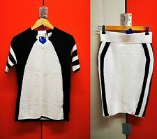 Rare SAMPLE Adidas Equipment Ladies Cotton Pencil Skirt & Top UK 10 BNWT Tennis
