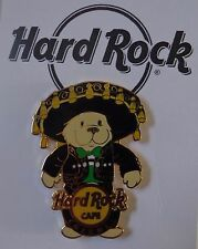 Hard Rock Cafe Pin Cozumel Herrington City Bear Series 2006 Mariachi Limited 300