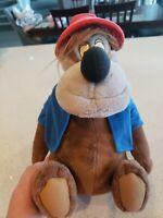 """Vintage Disneyland Walt Disney's Brer Bear splash mountain 14"""" Seated Plush Toy"""