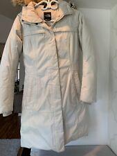 North Face Arctic 550 Goose Down Hyvent Jacket Winter Coat Women S Beige