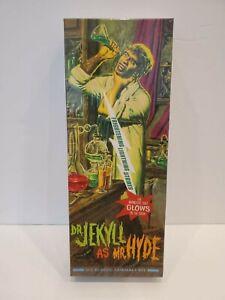 Moebius Dr. Jekyll as Mr. Hyde Frightening Lightning Lt Ed. 387 of 480 Model Kit