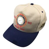 Local 103 Mens Adjustable Snap Back Hat Operating Engineers Union Cap 2001