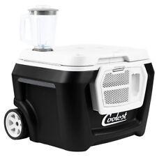 Coolest Cooler Party Blender Bluetooth Speaker LED Light USB Charger Dark Stormy