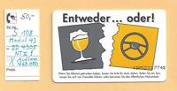 """Telefonkarte- S 108  04.93 """"Auf Ihr Wohl - kein Alkohol"""" - NT II"""