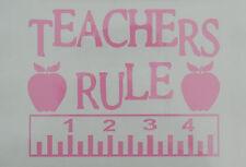 Teachers,Educators,Lovers of Children Oracal Vinyl Sticker