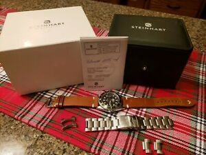 Steinhart OCEAN 1 GREEN , Stainless Steel, Swiss, Automatic, Preowned