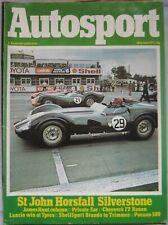 AUTOSPORT magazine 30 June 1977 featuring Reliant Scimitar GTE road test