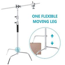 Neewer Upgraded Heavy Duty Adjustable C Stand Lightstand  with Boom Arm