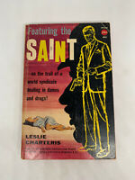 Featuring the Saint Leslie Charters 1931 Avon 803 Vintage Mystery PB Crime D47