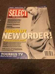 Select Magazine September 1993: New Order