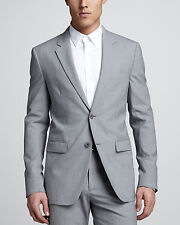 New Authentic Theory Men Xylo NP Stormcloud Stretch-Wool Sport Coat Blazer (38)