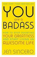 NEW You Are a Badass By Jen Sincero - Paperback - Free Shipping