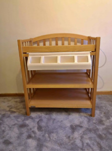 Wooden Baby Changing  Bathing Unit