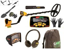 METAL DETECTOR GARRETT EURO ACE 350 +BACKPACK+PROPOINTER + HEADPHONES + SHOVEL +