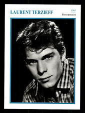 Laurent Terzieff STARPORTRAITKARTE - 80er Jahre TOP  + G 16881