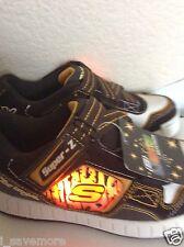 SKECHERS SUPER-Z  Kids 90376L LIGHTS Sneakers SHOES Sz 1 NWT