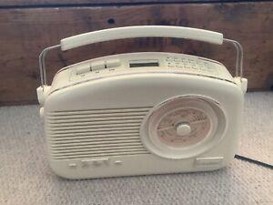 Steepletone DAB + AM FM Radio Dorset Model Cream Colour
