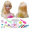 Girls Toy Doll Styling Clips Head With Accessories Comb Head Hair And Makeup