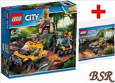 LEGO® City Dschungel 60159 Halbkettenfahrzeug & 30355 Quad & 0.-€ Versand NEU !