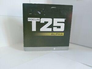 Focus T25 Beachbody Alpha & Beta Workout 9 DVDs