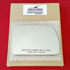 NEW Mirror Glass + ADHESIVE 00-06 BMW X5 Passenger Right Side RH **FAST SHIP**