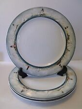 SET of 3 - Oneida BY THE SEA  Art of Dining DINNER PLATES - 11""