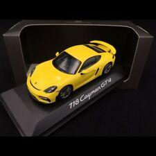 Porsche 718 Cayman GT4 type 982 2019 jaune racing 1/43 Minichamps WAP0204160K