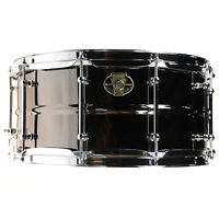 Ludwig 6.5x14 Black Magic Snare Drum w/Chrome Hdw