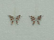 Ohrschmuck mit echten Granate Edelsteinen im Ohrstecker-Stil für Damen