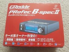 GREDDY PROFEC B SPEC II 2 BOOST CONTROLLER BLACK EBC SBC TURBO EVO SKYLINE *NEW*
