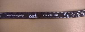 Authentique bolduc Hermès 2016 La nature au galop - Neuf