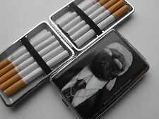 "PETS ROCK ""KARL LAGERFIELD""  CIGARETTE CASE FITS REG & K/SIZE CIGS  GIFT BOXED"