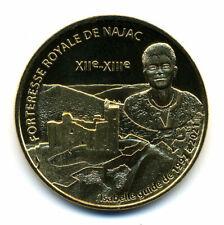 12 NAJAC Forteresse royale 3, Isabelle guide de 1997 à  2021, Monnaie de Paris