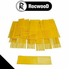 Yellow Sweeper Brushes Fits WESTWOOD COUNTAX Lawn Tractor Pack Of 51