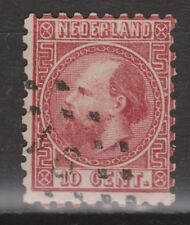 NVPH Netherlands Nederland 8 type 2 B kamtanding 101/2-101/4 type II Willem III