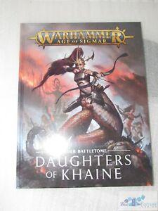 Daughters of Khaine Order Battletome Games Workshop AoS book Sigmar