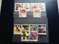 timbre thematique angola;fleurs