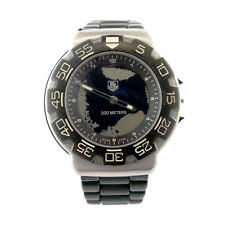 TAG HEUER FORMULA 1 CAC1110-0 BLACK DIAL SS QUARTZ WATCH FOR PARTS OR REPAIRS